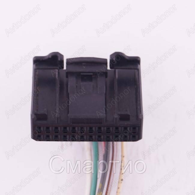 Разъем электрический 24-х контактный (29-10) б/у 1379668