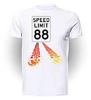 Футболка GeekLand Назад в будущее Back to the Future Speed limit BF.01.003