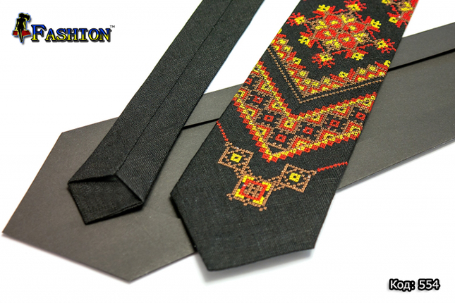 Вишиту краватку Осінь, фото 2