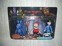 Аниматроники Пять ночей с Фредди Five nights at Freddys 3 фигурки набор 1