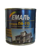 Емаль ПФ-115 бежева / 50 кг. / Хімтекс (бан.)