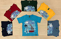 Детские футболки оптом, для мальчиков , 2-5 лет