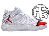 Мужские кроссовки Air Jordan Melo M13 White/Red