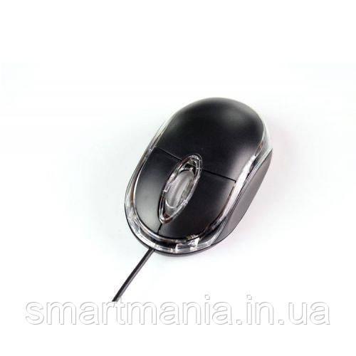 Мышь компьютерная проводная с подсветкой 800 dbi