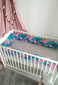 Самый оригинальный бортик в детскую кроватку 7