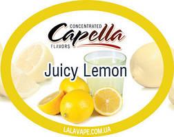 Ароматизатор Capella Juicy Lemon (Соковитий лимон)