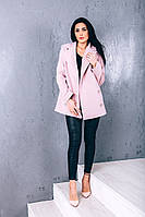 Пальто O.Z.Z.E Д262 40 кашемир розовый
