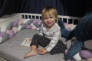 Самый оригинальный бортик в детскую кроватку 15