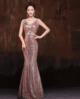 Выпускное платье Телла. В жемчужно-розовом цвете.