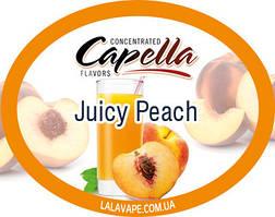 Ароматизатор Capella Juicy Peach (Сочный персик)