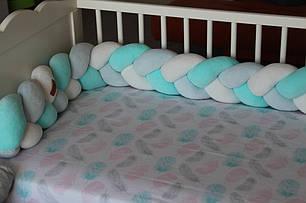 Самый оригинальный бортик в детскую кроватку 24