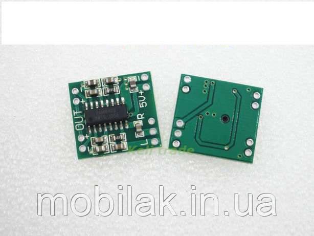 Усилитель звука 2х3W PAM8403(D)