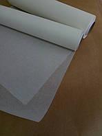 Силиконизированный пергамент для выпечки белый в рулоне 420мм  100 метров