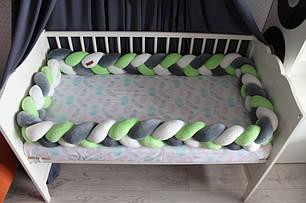 Самый оригинальный бортик в детскую кроватку 26