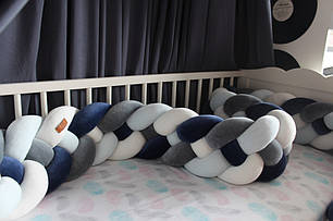 Самый оригинальный бортик в детскую кроватку 28