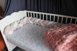 Самый оригинальный бортик в детскую кроватку 29