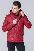 Модная ветровка мужская красная Braggart 1489Q