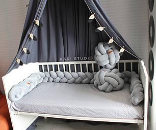 Самый оригинальный бортик в детскую кроватку 31
