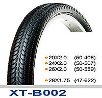 Велопокрышка 20x2.00, SY-B002