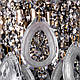 Классическая хрустальная люстра на цепи на 6 лампочек. P5-E1361/6, фото 4