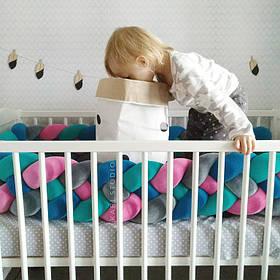 Самый оригинальный бортик в детскую кроватку 2