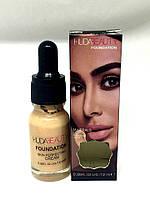 860 Тональный крем для лица Huda beauty foundation 12 мл c пипеткой (в наличии №1,2,3)