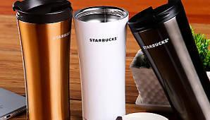 Термокружка Starbucks старбакс 500 мл термочашка термос чашка