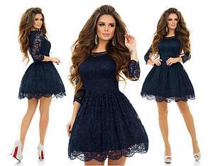 Гипюровое платье с фатином , фото 2