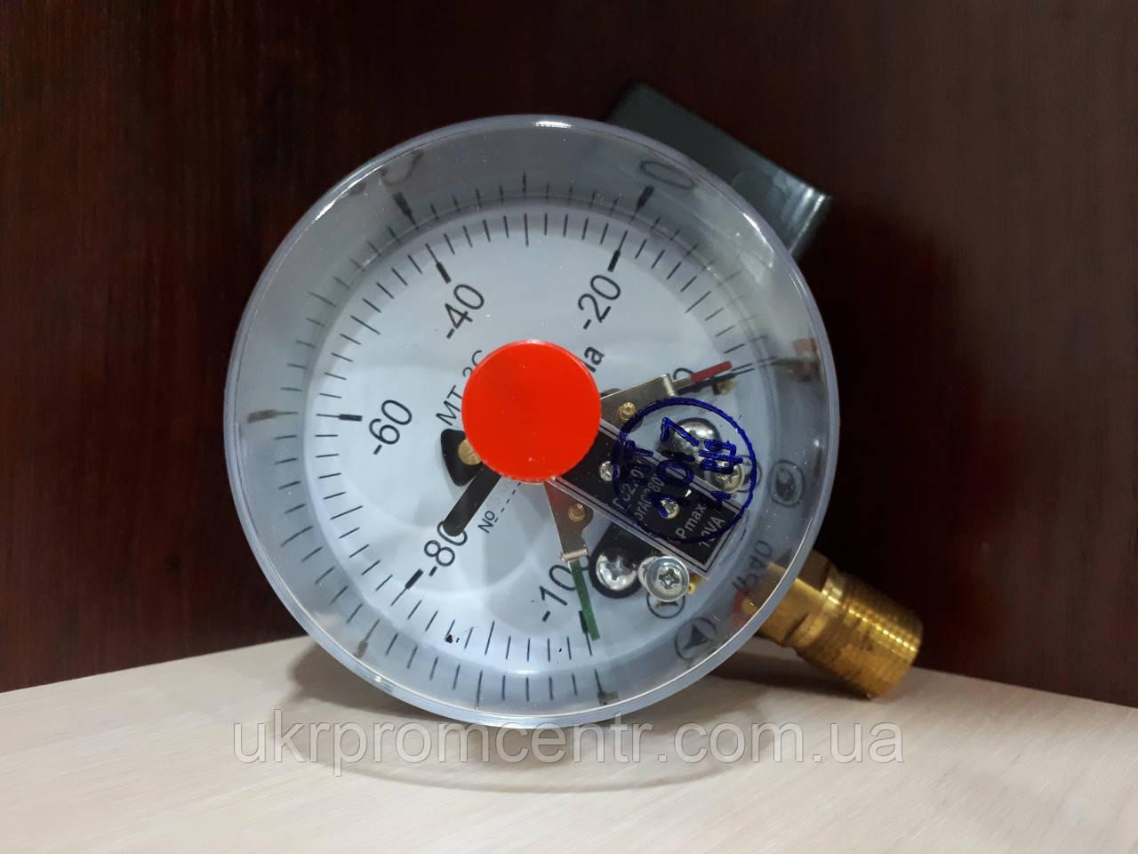 Вакуумметр электроконтактный МТ-3С