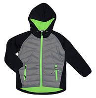 Термо куртка на флисовой подкладке 10 лет  для мальчиков
