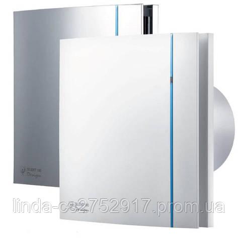 Вентилятор вытяжной SILENT-100 CZ DESIGN (230V 50), Soler&Palau, вентилятор бытовой, фото 2