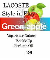 Масляная парфюмерия на разлив для мужчин 291 «Style in Play Lacoste»