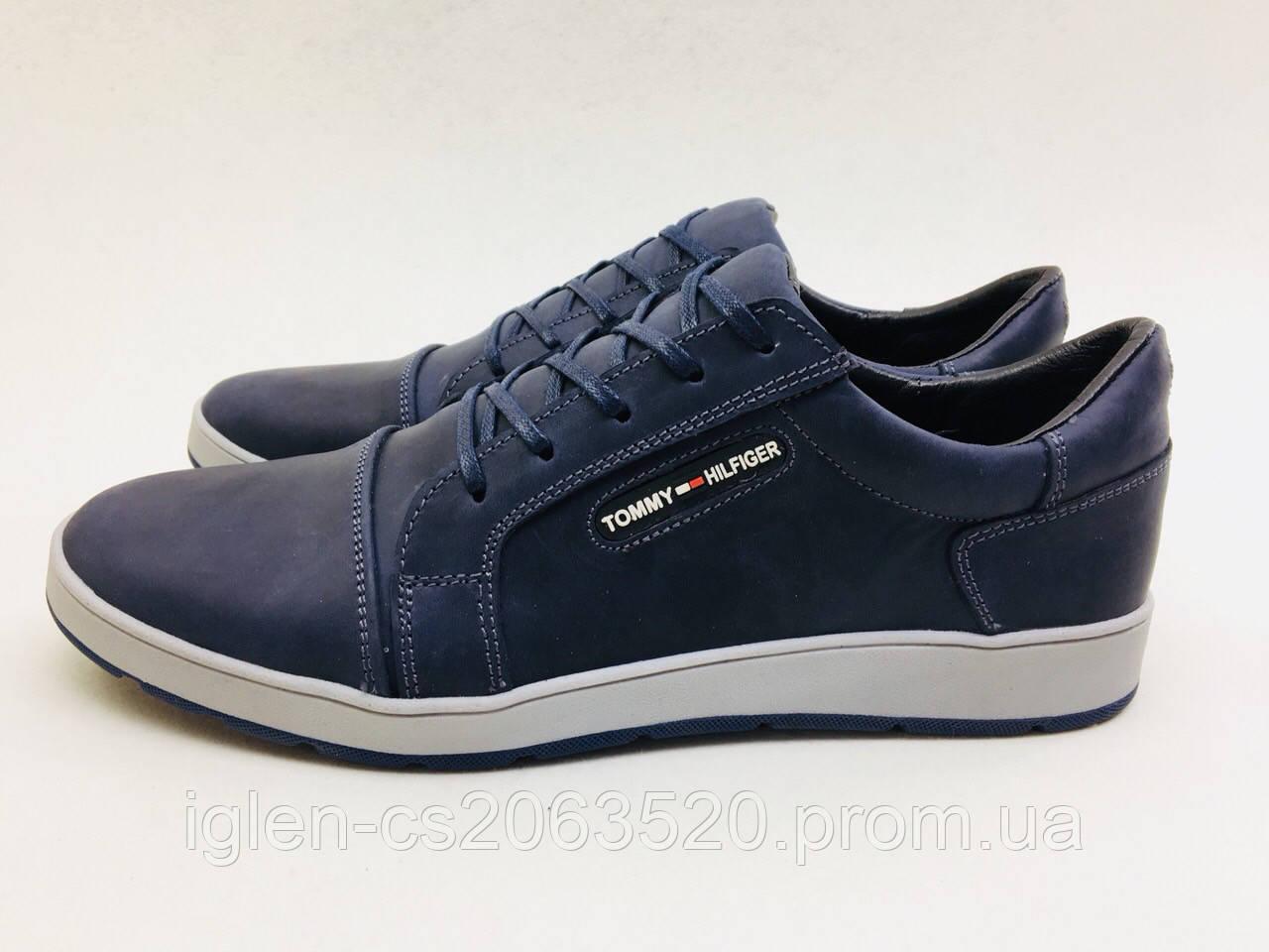 Мужские кроссовки Tommy Hilfiger синие