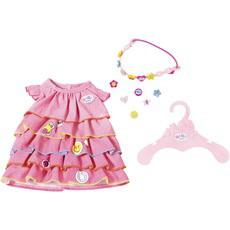 Платье куклы Беби Борн летнее с аксессуарами Baby Born Zapf Creation 824481