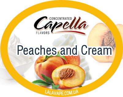 Ароматизатор Capella Peaches and Cream (Персики и крем)