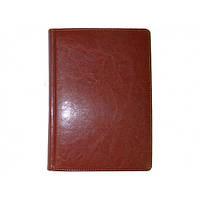 Ежедневник датированный BRISK OFFICE SARIF Стандарт А5 (14,2х20,3) коричневый
