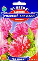 Василёк Розовый кристалл махровый   0.5г