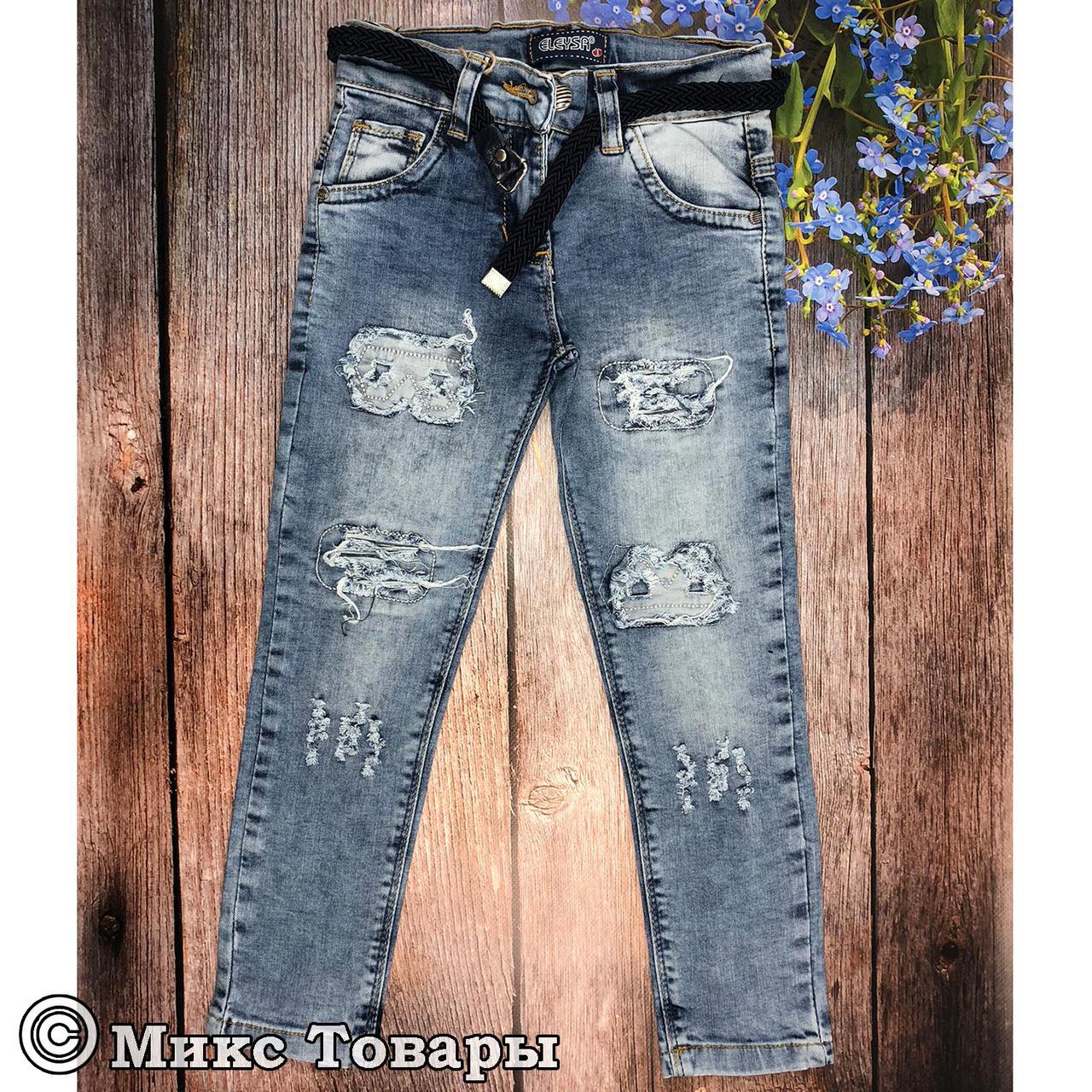 46be6c120b31d Рваные джинсы для девочек Размеры: 10,11,12 лет пр-во Турция (6074), цена,  купить в Одессе — Prom.ua (ID#647485693)