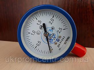 Манометр ДМ05063 О2, С2Н2 для вимірювання тиску кисню, ацетилену і газу
