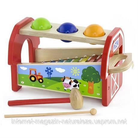 Іграшка 2 в 1 Ксилофон