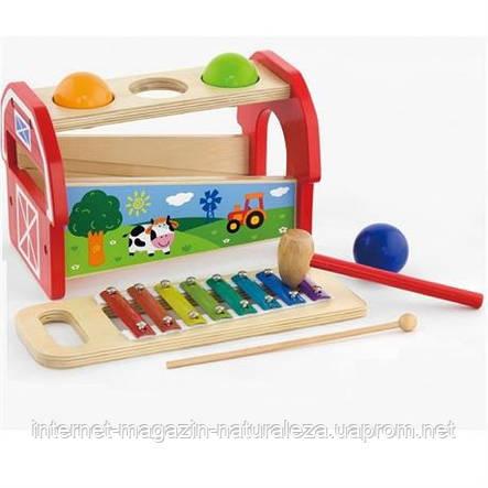 Іграшка 2 в 1 Ксилофон, фото 2