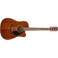 Акустическая гитара FENDER CD-60SCE ALL MAHOGANY NATURAL