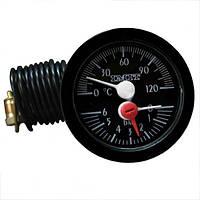 Термоманометр капиллярный для газовых котлов 030646