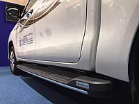 Подножки пороги  для Toyota HiLux 2015+