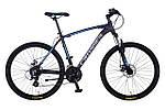 """Горный велосипед CROSSER INSPIRON 26"""", 18""""   Черный / Бирюзовый"""