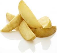 Картофельные дольки с корочкой Ecofrost
