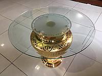 Столик стеклянный (Италия) Delta Ceramiche