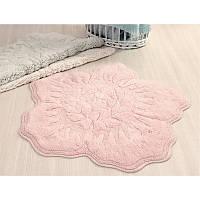 Коврик для ванной Irya - Rosalinda розовый 100*100