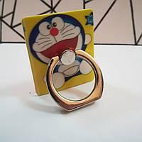 PopSocket Кольцо-держатель для телефонов кот серебряное кольцо