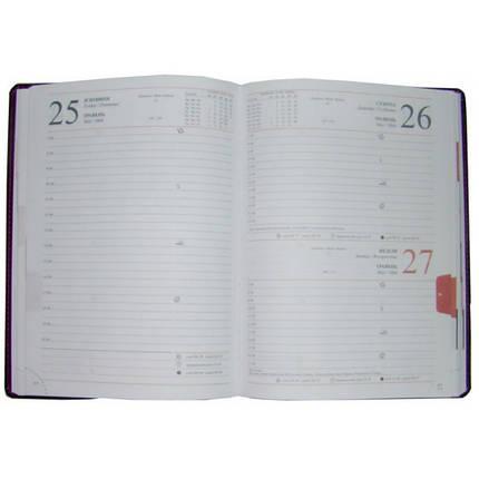 Ежедневник датированный 2020 BRISK OFFICE MIRADUR Стандарт А5 (14,2х20,3) черный, фото 2